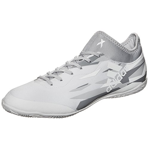 Adidas x Tango 16.3in–Chaussures de Foot en Salle pour Homme, Blanc–(Ftwbla/Ftwbla/negbas) 40