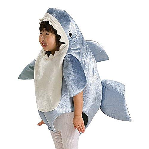 Shark Romper Toddler Costume  sc 1 st  Amazon.com & Shark Boy Costume: Amazon.com