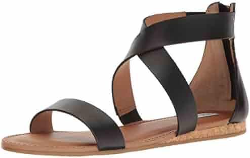 Steve Madden Women's Halley Flat Sandal