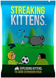 Streaking Kittens: This Is The Second Expansion of Exploding Kittens Card Game - Family-Friendly Party Games - Card Games Fo