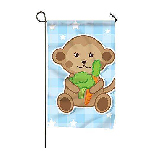 FunnyLife Premium Garden Flag Decoration Double Sided (Kids Menu) 16x30 -