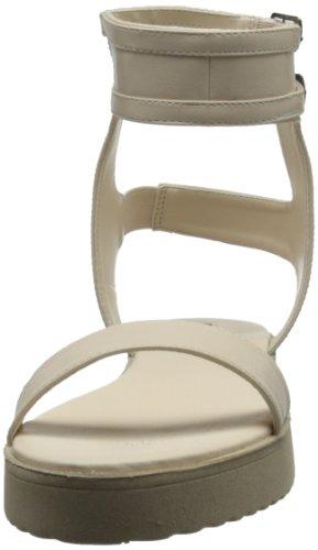 4 Étiquette Des Sandale Nue Femmes Plate C forme Gilda 7pwqqH