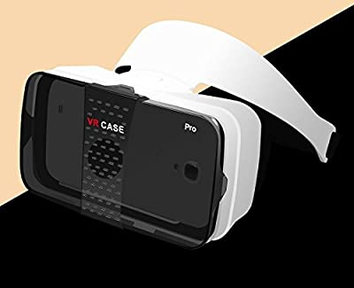 VR Box For 4-6.3 Inch SmartPhone,VR Case Pro VR Box 3D Glasses Immersive Virtual Reality,Helmet Optical Lens Glasses Gaming 360 camera VR Anti-blury Theatre For 4-6.3 inch SmartPhone