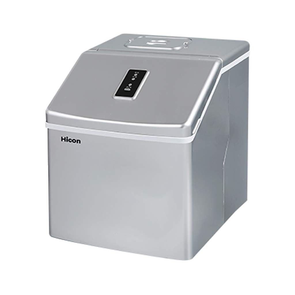 WHJ@ Compact Portable Countertop Ice Cube Maker Ice Machine Commercial 25kg Small Tea Shop Manual Household Fast Ice Cube Making Machine