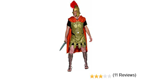 Smiffys-20375M Miffy Disfraz de Soldado Romano, Dorado, con Capa ...