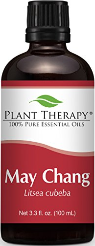 Plant Therapy May Chang (also known as Litsea Cubeba). 100% Pure, Undiluted, Therapeutic Grade. 100 mL (3.3 Ounce).