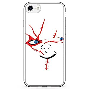 Loud Universe The doll face iPhone 7 Case Retro Movie Chucky iPhone 7 Cover with Transparent Edges