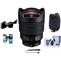 Sony FE 12-24mm f/4 G E-Mount Lens - Bundle With Lens Pouch, Flex Lens Shade, Cleaning Kit, Capleash II, Software Package