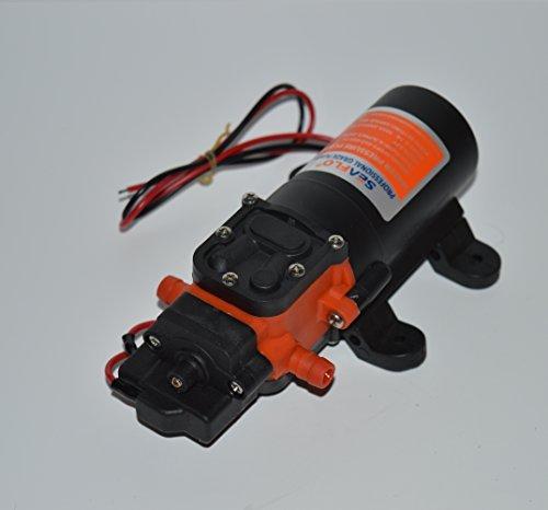 Seaflo 12V 1.2 GPM 35 PSI Water Pressure Diaphragm Pump, Model: SFDP1-012-035-21, Outdoor & Hardware Store
