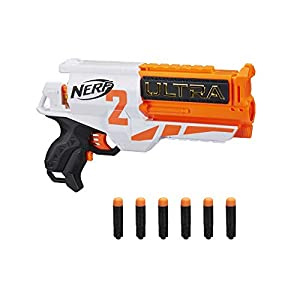 ERF-Ultra-Two-Motorized-Blaster-Fast-Back-Reloading-Includes-6-Ultra-Darts-Compatible-Only-Ultra-Darts