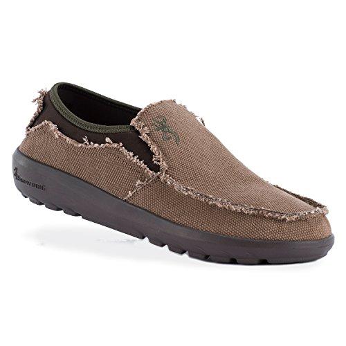 Browning Men's Harvey Canvas Shoe | Pine Bark/Cypress | Size 11