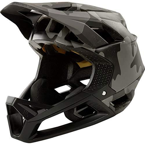(Fox Racing Proframe Helmet Black Camo, M )