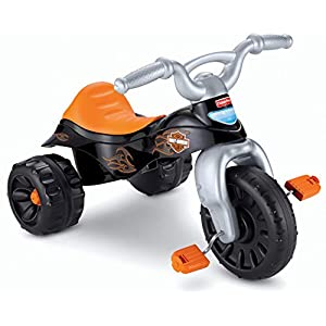 41VDoBXHjVL. SS300  - Fisher-Price Harley-Davidson Tough Trike [Amazon Exclusive] , Black