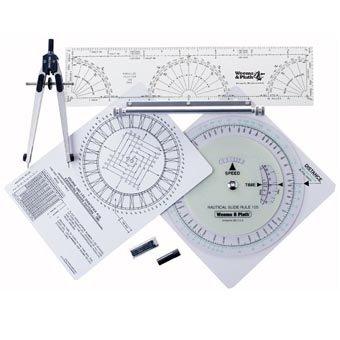 Weems & Plath Marine Navigation Coast Guard Navigation Tool Kit