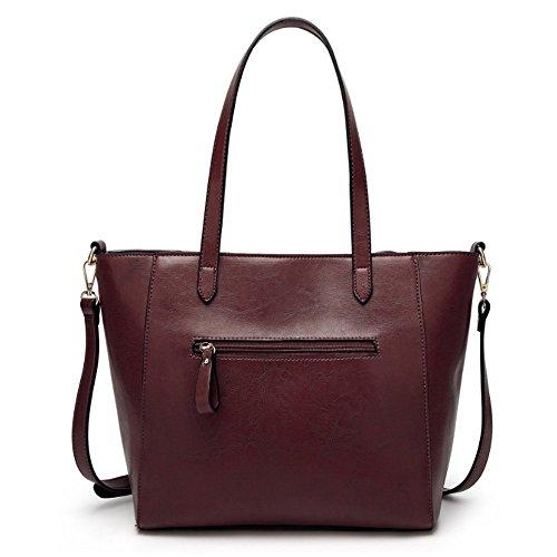 falda las coffee messenger tamaño solo bolso Moda señoras Penao 30cmx12cmx27cm Retro de bandolera w6z7ZT0xq
