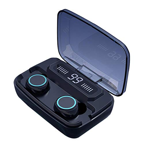 Doreleven Bluetooth 5.0 LCD Headset TWS Wireless Earphones Mini Earbuds Stereo Headphones