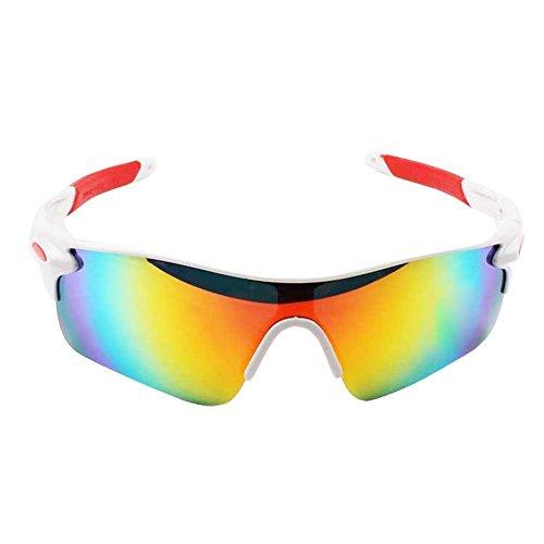 bicicleta Montar de Gafas Gafas gafas de de borde con Gafas polarizadas Acampar LAAT pesca sol deportivas correr de hombre aire sol Deportes libre al de para 5 medio sol qgwSz