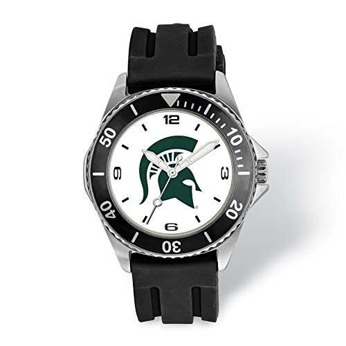Lex & Lu LogoArt Michigan State University Collegiate Gents Watch