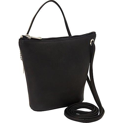 david-king-co-top-zip-mini-bag-518-black-one-size