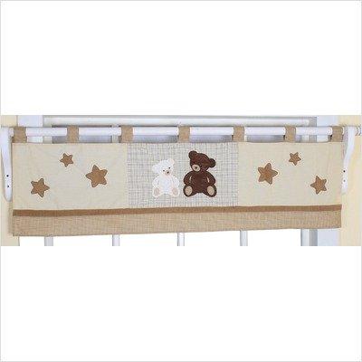 GEENNY Window Valance, Boutique Teddy Bear