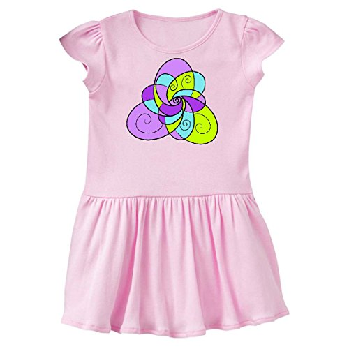 Ballerina Pink Rose Petal - inktastic - Spring and Easter Stained Toddler Dress 3T Ballerina Pink 29133
