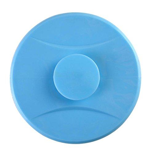 UMFun Universal Floor Plug Kitchen Bath Tub Sink Silicone Water Stopper Tool Filter Net 10.5cm (Blue)