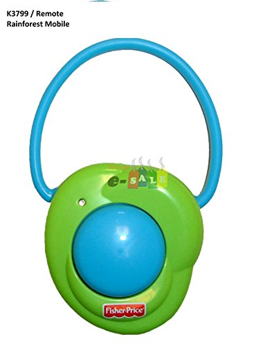 Fisher Price Rainforest Peek A Boo Leaves Crib Mobile Remote Control Replacement ()
