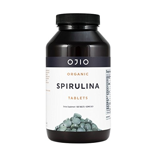 Ojio Organic Spirulina 500 mg 500 Tablets Review