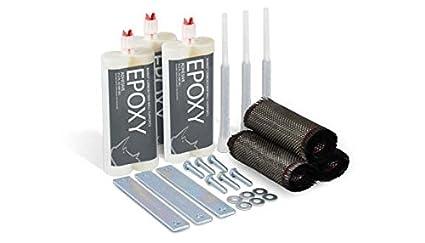 Amazon rhino bowed wall crack repair kit rcf 8 repair kit rhino bowed wall crack repair kit rcf 8 repair kit for wall repair solutioingenieria Images