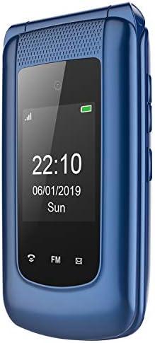 3G Teléfono Móvil Simple para Ancianos con Teclas Grandes,Pantalla ...