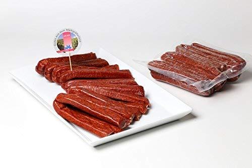 Schwarzwälder Landjäger – 10 Paar (800 g) im Pack, handwerklich hergestellt, luftgetrocknet