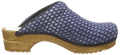Debra 5 blue Open Blu Donna 5 Sanita Zoccoli zd61dB