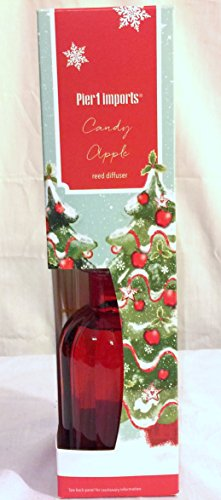 New Pier One Candy Apple Fragrance Reed Diffuser - Glasses Pier One