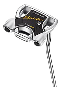 TaylorMade 2018 Spider Interactive Putter (SuperStroke, Double Bend, Left Hand, with Sightline, 33 Inches)
