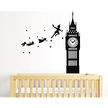 Peter Pan Tinkerbell Neverland Walt Disney Big Ben