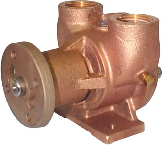 Impeller Crusader (Jabsco 42730-0000 Marine Flexible Impeller Engine Cooling Replacement Pump (Crusader, Pully Drive, 1