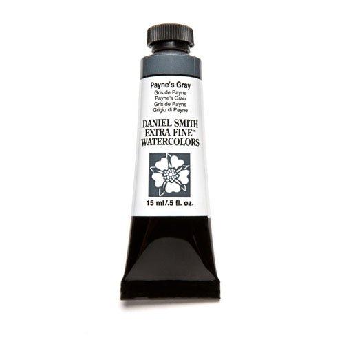 Daniel Smith Extra Fine Watercolor 15ml Paint Tube, Payne's Gray - Indigo Classic Wash
