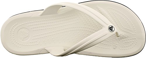 Crocs Flip White Adults' Crocband flops Unisex Zvqw17rZxn
