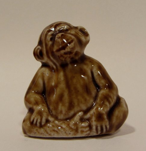 Monkey - Red Rose Tea Wade Figurine, American Series #1 1983-1985