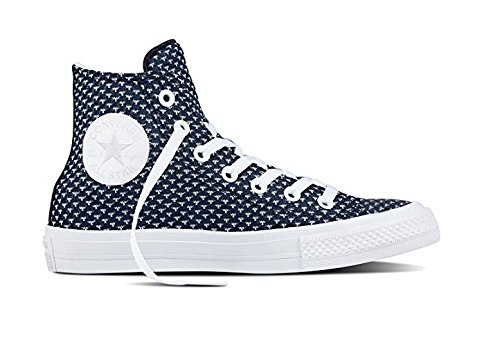 Chuck Festival White Ladies Obsidian Knit 38 High Sneaker Converse 155457c Ii 5qaznngP4