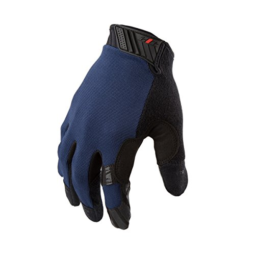 (212 Performance Gloves MGGC-BL04-010 Extra Grip Utility Gloves, Touch-screen Compatible, Navy Blue, Large)