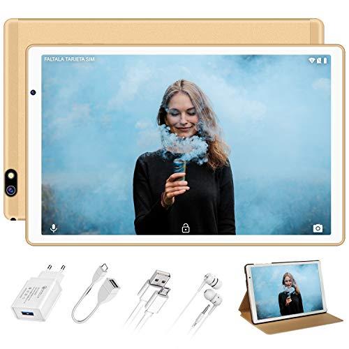 🥇 Tablet 10 Pulgadas FACETEL Q3 Android 9.0 4GB RAM+64GB ROM