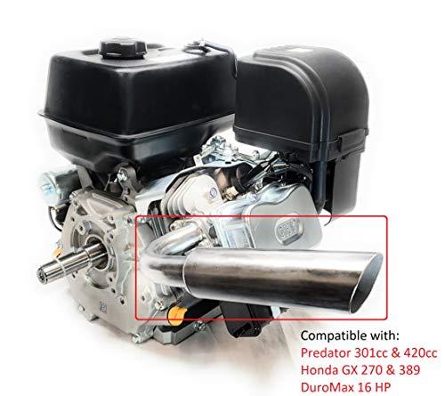 Header Exhaust Pipe for Go Kart Predator 301cc & 420cc, GX Hondas