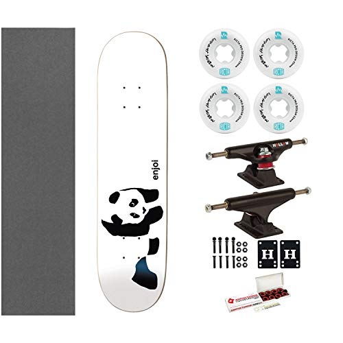 Enjoi Skateboard Whitey Panda 7.75