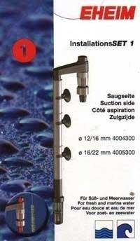 Eheim Install Set 1, 0.5 inch (Suction)