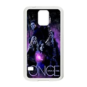 Samsung Galaxy S5 Phone Case White Once upon a time AFVT565974