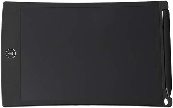 ポータブル8.5インチLCDライティングドローイングテーブル手書きボード掲示板ペーパーレスオフィスメモボードライトボード(黒)
