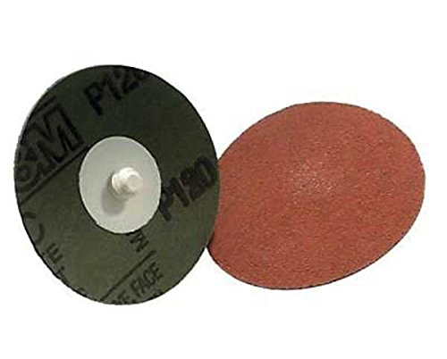 3M Roloc 361F Coated Aluminum Oxide Quick Change Disc - 60 Grit - 1 1/2 in Dia - 30000 Max RPM - 49933 [PRICE is per DISC]