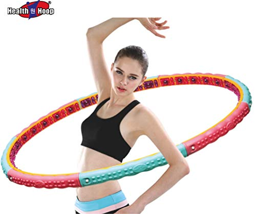 Weight Loss Health Hula Hoop -4.63lb (42.5 inch Wide) Dynamic Magnetic Therapy Massage for Exercise,Fitness Workout 2.1kg