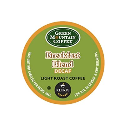 Green Mountain Coffee Decaf Breakfast Blend, K-Cup for Keurig Brewers